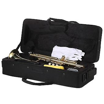 Musical Trumpet Bb B Flat Brass Trompeta Exquisite Durable Trompete Musical