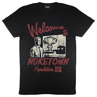 Womens Call Of Duty T-Shirt Cold War Zombies Welkom bij Nuketown Official