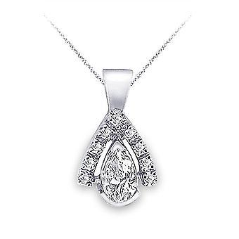 Diamant-Anhänger 1,75 ct. tw. Birnenform