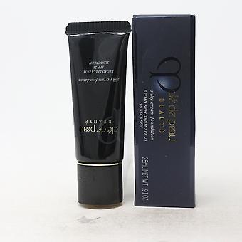 Cle De Peau Beaute Silky Cream Foundation Spf 23  0.87oz/21ml New With Box