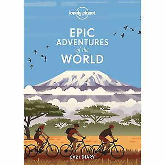 Otter House 2021 A5 Diary - Lonely Planet Epic Adventures