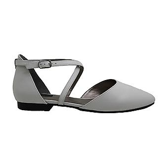 ARRAY Womens Pixie Leather Pointed Toe Casual Ankle Strap Sandals