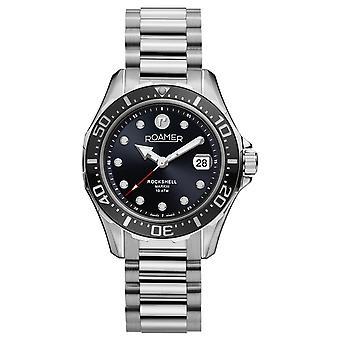 Roamer 220660 41 55 20 Rockshell Mark III Black Dial Wristwatch