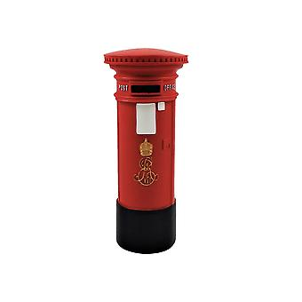Dolls House Edwardian British Post Office Letter Mail Box 01:12 Rouge
