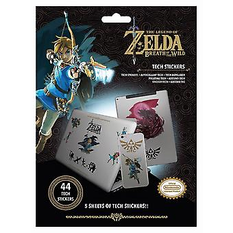 The Legend Of Zelda: Breath Of The Wild Power Stickers (Pack of 44)