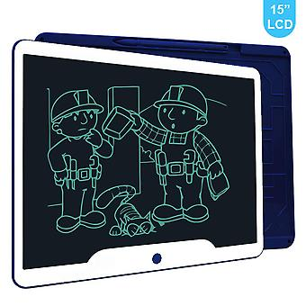 Richgv lcd writing tablet, 15 inch electronic graphics tablets doodle pads digital ewriter, portable