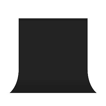 Utebit black backdrop 5x7ft / 1.5x2m photography backdrop washable and collapsible backdrops for pho