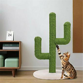 Sisal Rope Cat Scratch Cactus Forma Copac Cat Alpinism Zgarieturi Post Interactive