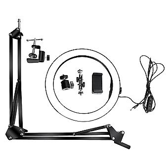Microphone Scissor Arm Stand Holder Tripod Microphone Stand With A Spider