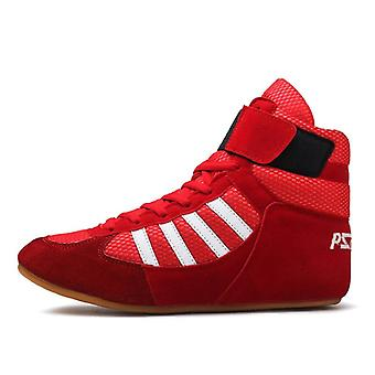 Athletic Training Wrestling  Lace-up Sports Shoes