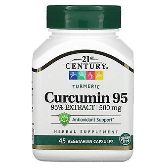 21st Century, Curcumin 95, 500 mg, 45 Vegetarian Capsules