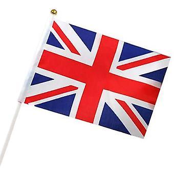 TRIXES 6 x British Union Jack lippujen Royals osapuoli Englannissa St George jalkapallojoukkue GB