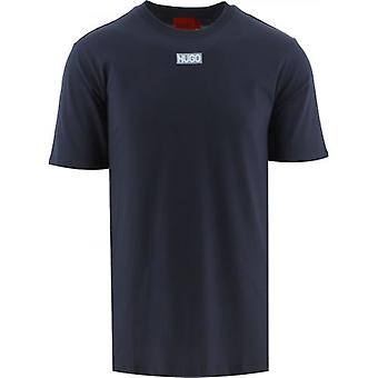 HUGO Navy Durned 212 T-Shirt