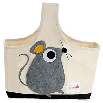 3 Sprouts Bag with handle - Mouse