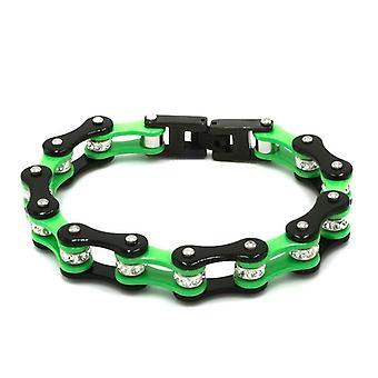 Men's Biker Chain Bracelets, Bangles, Stainless Steel Link Cuban Chains,