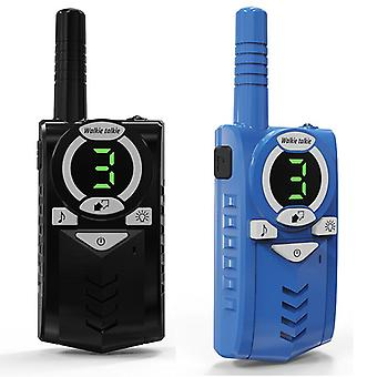 2pcs Lange Rangee Max 10KM Walkie Talkie Radio Interphone Handheld Kind Cadeau Speelgoed