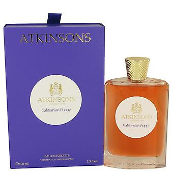 Kalifornischer Mohn Eau De Toilette Spray von Atkinsons 3,3 oz Eau De Toilette Spray