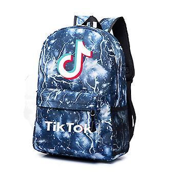 TIK TOK حقيبة المدرسة الطرفية حقيبة عارضة