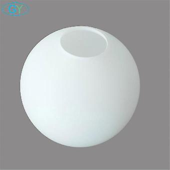 White Globe Glass Lamp Shade E27 E14 Milky Glass Lampshade Part For Chandelier