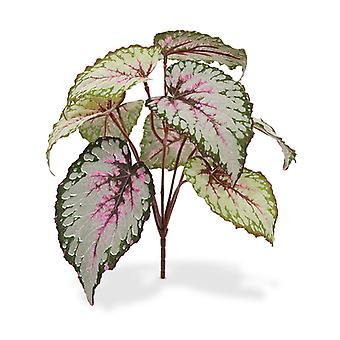 Bouquet artificiel Begonia 25 cm