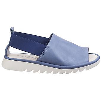 The Flexx Womens/Ladies Wat Is Wav Vacchetta Open Toe Leather Sandals