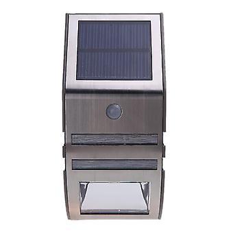 Aurinkovoimalla toimiva valo 2 smd led-monikiteisen aurinkopaneelin pir-anturilla ympäristöystävällinen