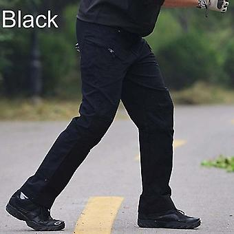 Men Tactical Cargo Pants, Army Outdoor Hiking Trekking Casual Sweatpants,