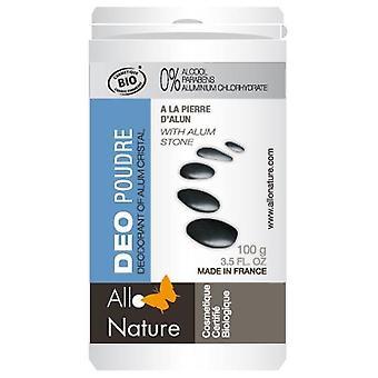 Allo Nature Deodorant alum powder 100 gr