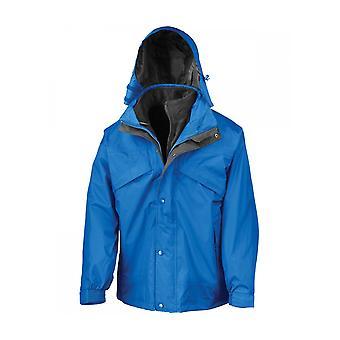 Tulos 3-in-1 vetoketju ja clip jacket RE68A