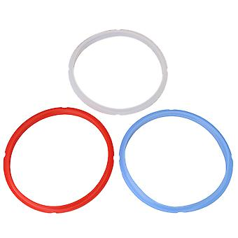 3PCS Sealing Ring 5/6Qt Silicone Gasket Accessoires pour autocuiseur