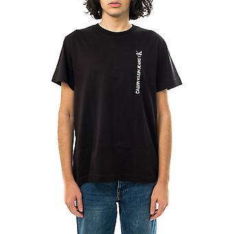 Calvin Klein homme T-shirt ck vertical dos graphique tee j30j318303.beh