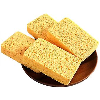 Wood Pulp Cotton Brushes Sponge Scouring Pad Sponge Kitchen Cleaning Household Tool Kitchen Gadget