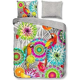 bed cover Kjenta 240 x 220 cm satin-enhighed