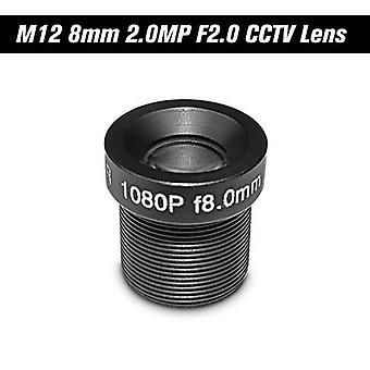HD 2.0Megapixel 2MP 8mm M12 CCTV Board Objektiv IP Kamera Objektiv F2.0 Feste Iris M12* P0.5 1/2.7