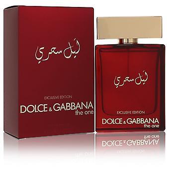 The One Mysterious Night by Dolce & Gabbana Eau De Parfum Spray 3.3 oz