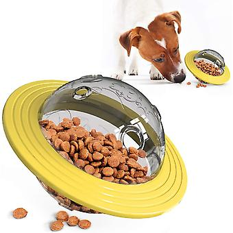 Frisbee huisdier hond traktatie bal, voedsel dispensing puzzel langzame feeder bal
