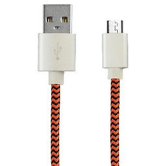 Usb-kabel naar Micro Usb Ksix 1 M