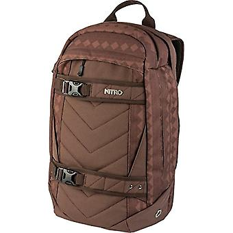 Nitro Snowboards 2018 Casual Backpack, 50 cm, 27 liters, Red (Northern Patch)