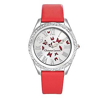 Christian Lacroix Analog Quartz Watch Woman with LEATHER STRAP CLWE32