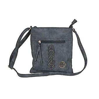 Rieker H1020, Women's Evening Bag, Blue, 232x10x248