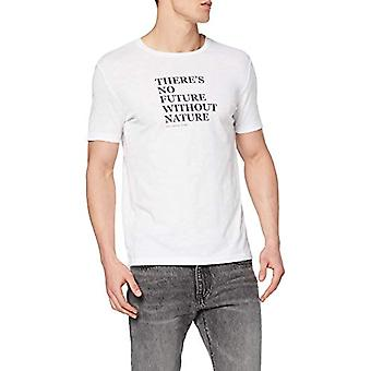 Marc O'Polo M22217651274 T-Shirt, Blanc (Blanc 100), X-Large Homme