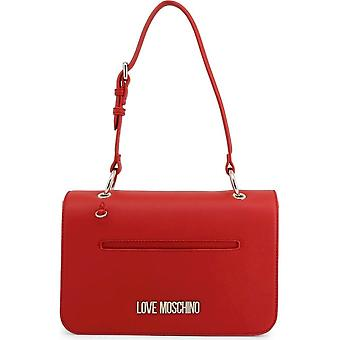 Love Moschino - Bags - Shoulder Bags - JC4102PP1ALQ-150A - Women - Red