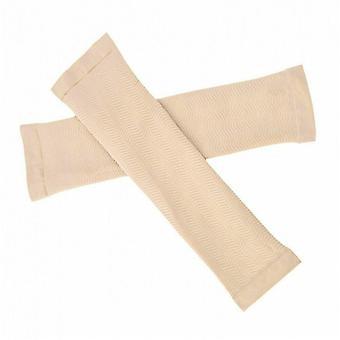 Mujeres Brazo que da forma a las mangas elásticas cinturón delgado