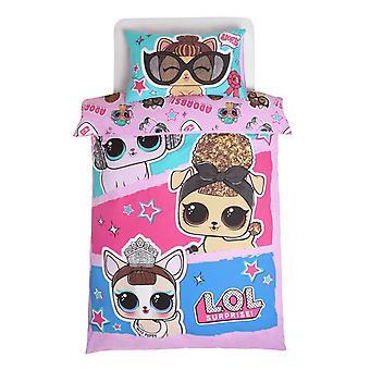 LOL Surprise Pets Glam Adorbs Duvet Cover Set