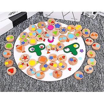 لفريق الأم لعبة تفاعلية العثور على صورة لغز الذاكرة لعبة المجلس 4 8 سنوات من العمر الفتيات WS25816