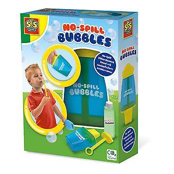 SES CREATIVE Kinder No-Spill Bubble Emmer met Mega Bubbles Oplossing, 200ml
