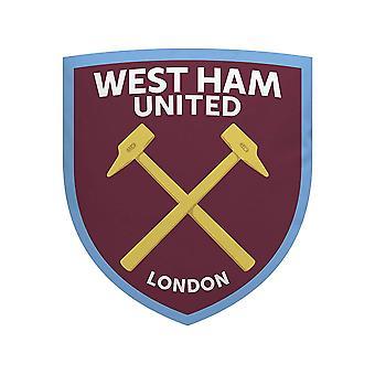 West Ham United Crest vormig kussen