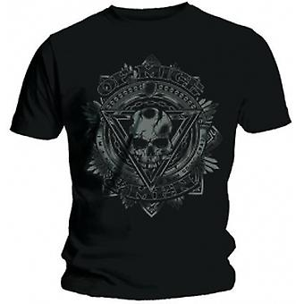 Of Mice & Men Release Mens Black T Shirt: Small