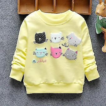 Baby Sweatshirts Winter & Frühling Hoodies Katzen Langarm T-Shirt Jacke