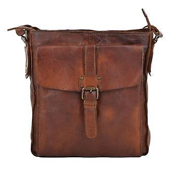 Genuine Vintage Leather Cross Body Bag